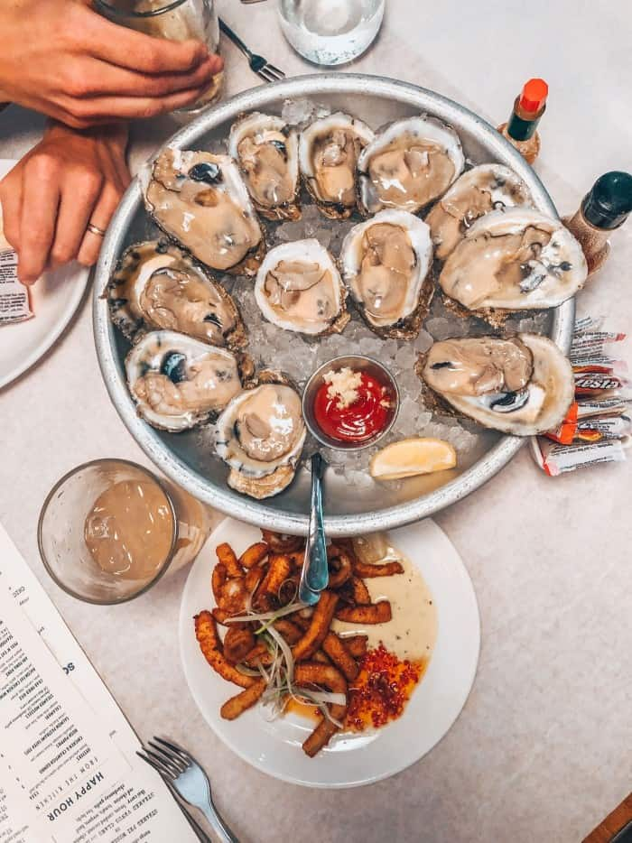 Jax Fish House Lodo Oyster Happy Hour