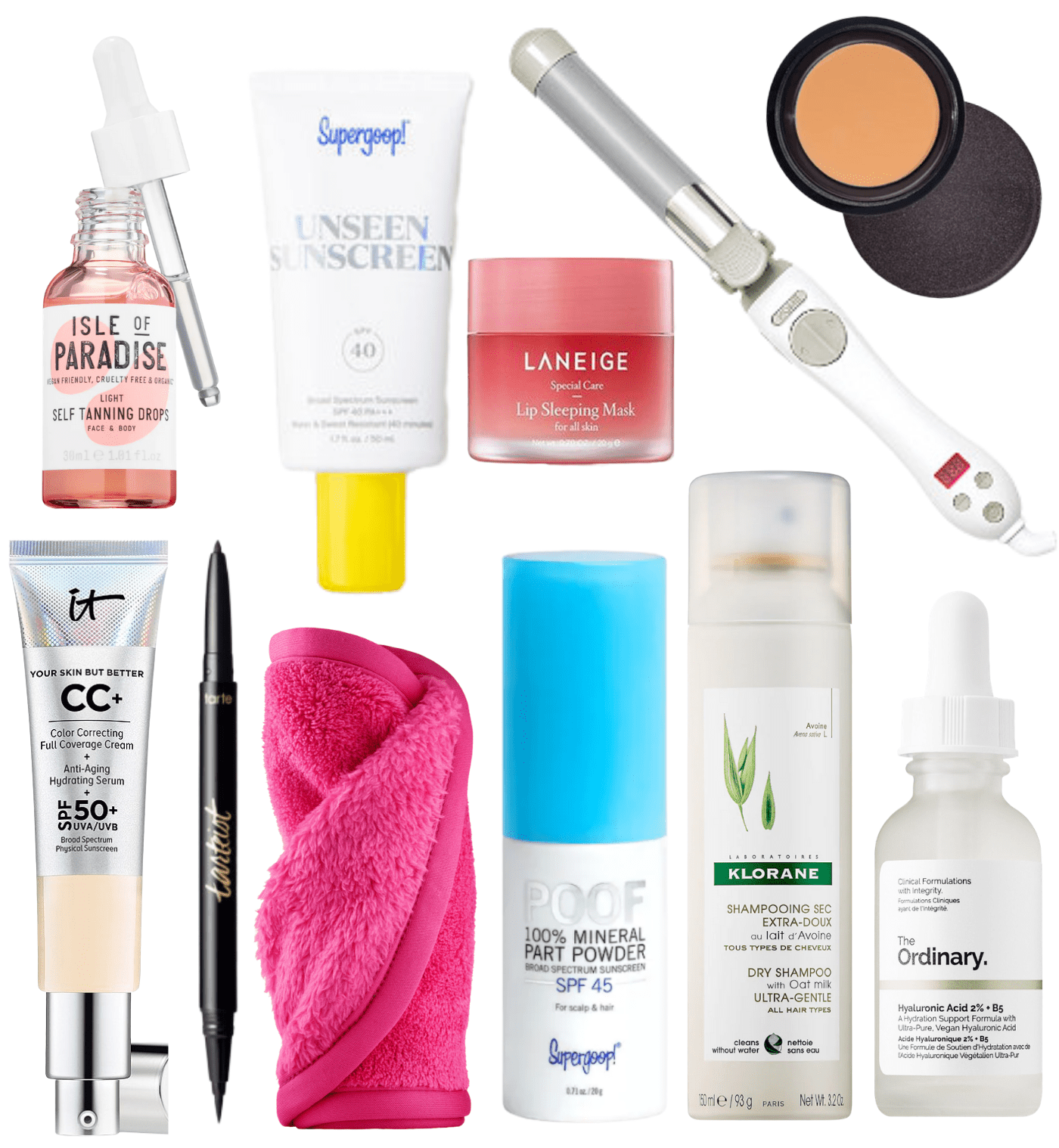 Favorite products from sephora collage