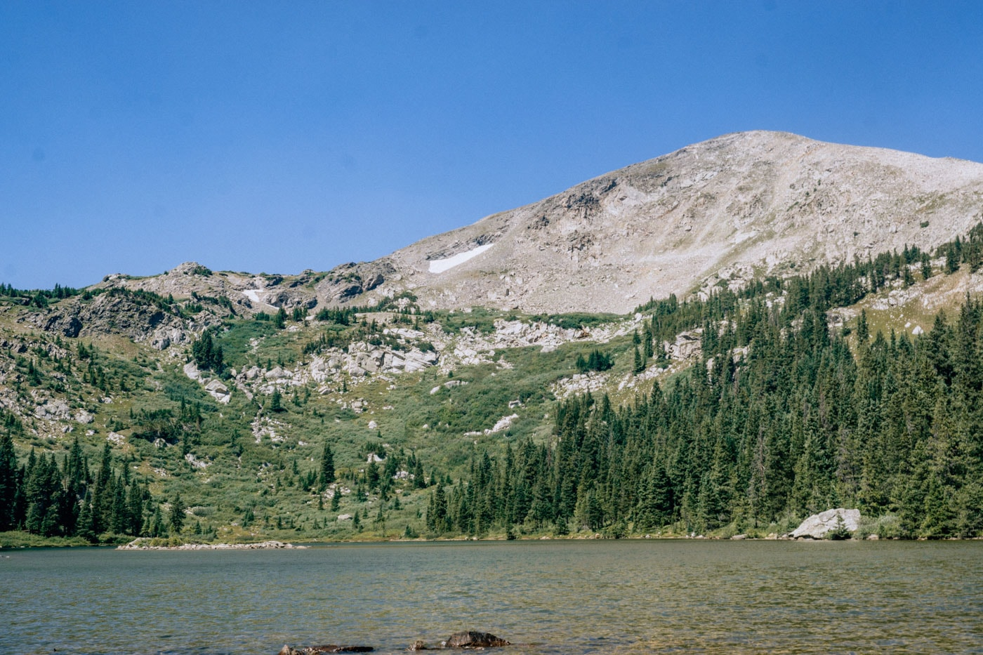 Hike Kroenke Lake outside Buena Vista